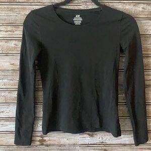 H&M Juniors Basic Organic Cotton Long Sleeve